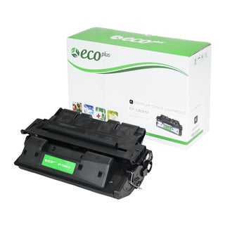 EcoPlus Black HP C8061X Remanufactured Toner Cartridge