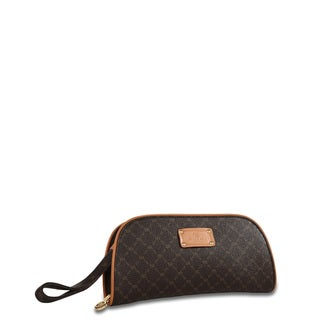 Rioni Signature Brown Clutch Organizer