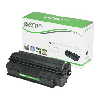 EcoPlus Black HP C7115X Remanufactured Toner Cartridge