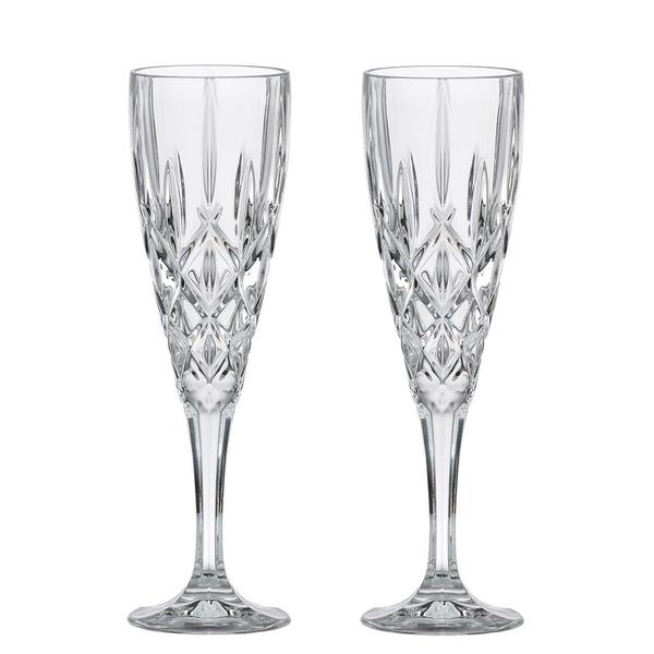 Gorham Lady Anne Signature Flute Glasses (Set of 2)