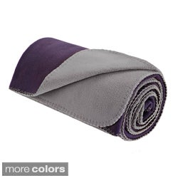 Premier Comfort Reversible Microfleece Throw