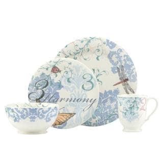 Lenox Collage 'Butterfly' 4-piece Bone China Place Setting