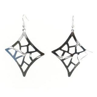 Handcrafted Large Silverplated Starlight Earrings (Mexico)