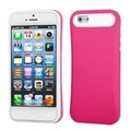 BasAcc Hot Pink/ White Card Wallet Case for Apple iPhone 5