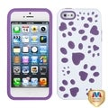 BasAcc Ivory White/ Electric Fishbone Case for Apple iPhone 5