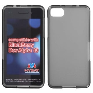 INSTEN Semi-Transparent Smoke Candy Skin Phone Case Cover for Blackberry Z10