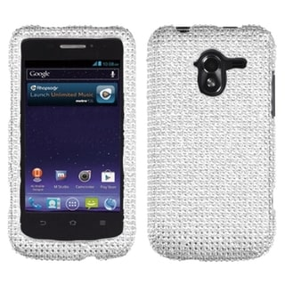 BasAcc Silver Diamante 2.0 Case for ZTE N9120 Avid 4G