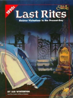 Last Rites: Four Present-Day Adventures for Call of Cthulhu (Paperback)