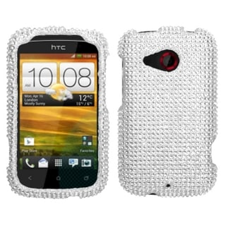 BasAcc Silver Diamante Case for HTC Desire C