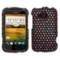 BasAcc Sprinkle Dots Diamante Case for HTC Desire C