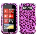 BasAcc Pink Leopard Skin Case for HTC Trophy