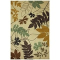 American Rug Craftsmen Madison Hidden Escape Beige Rug (5'3 x 7'10)