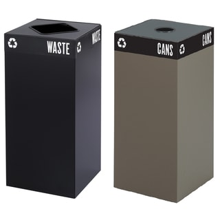 Safco 31-gallon Public Square Trash Can Base