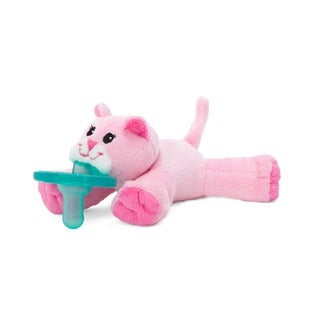 WubbaNub Pink Kitty Infant Pacifier