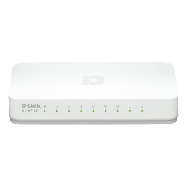 D-Link GO-SW-8E 8-Port 10/100 Unmanaged Desktop Switch