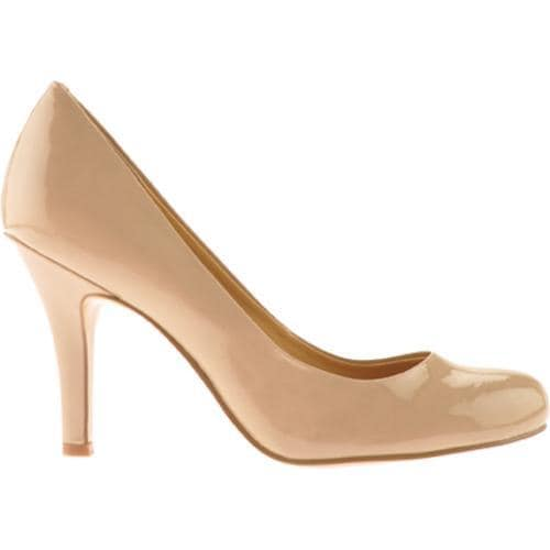 Women's Nine West Ambitious Taupe Patent