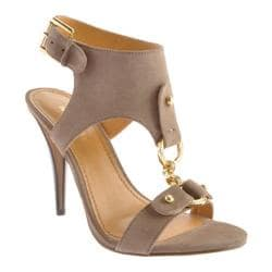 Women's Nine West Bezel Taupe Suede