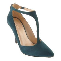 Women's Nine West Blonsky Blue Green Suede