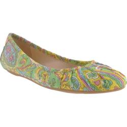 Women's Nine West Blustery 7 Green Multi Fabric