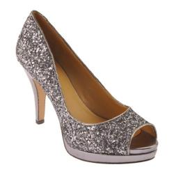 Women's Nine West Danee Pewter Synthetic