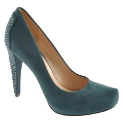 Women's Nine West Coldfeet Blue Green Suede