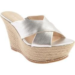 Women's Nine West Dashall Silver Multi Fabric