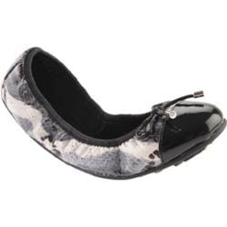 Women's Nine West Dramaclub 3 Black/White Multi Synthetic