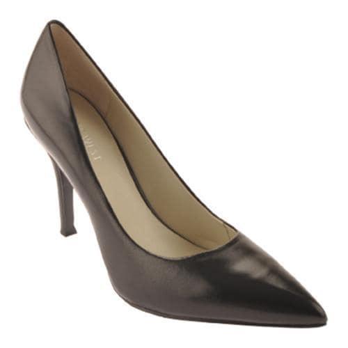 Women's Nine West Flax Black 2 Leather