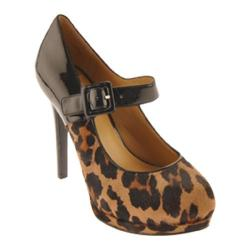 Women's Nine West Hadaclue Natural Multi/Black Synthetic