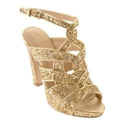 Women's Nine West Hitmaker Gold Silver/Gold Synthetic