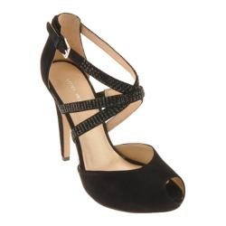 Women's Nine West Justmaybe Black Suede