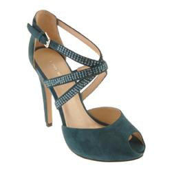 Women's Nine West Justmaybe Blue Green Suede