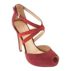 Women's Nine West Justmaybe Wine Suede