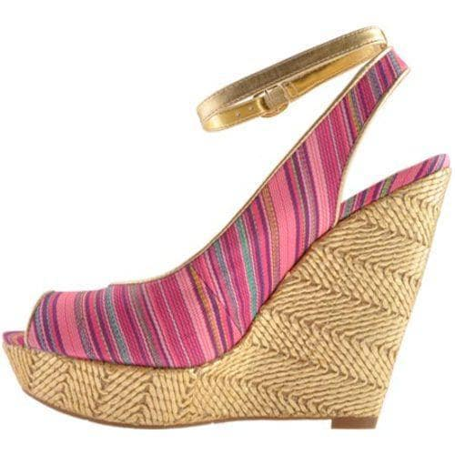 Women's Nine West Karmic 2 Pink Multi/Gold Fabric