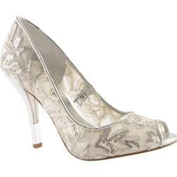 Women's Nine West Kash 2 Silver Fabric