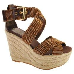 Women's Nine West Mitchelle Bronze Multi Fabric