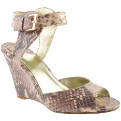 Women's Nine West Misscharm3 Natural Multicolored Synthetic