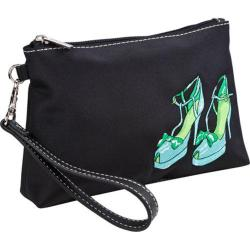 Women's Sydney Love Head Over Heels Embroidered Cosmetic Wristlet Head Over Heels