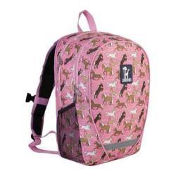 Women's Wildkin Comfortpack Backpack Horses in Pink
