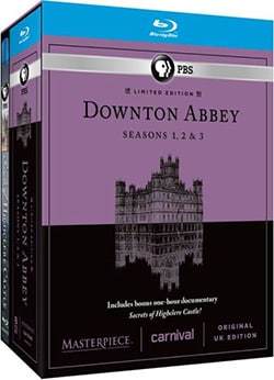 Masterpiece Classic: Downton Abbey: Seasons 1, 2 & 3 (U.K. Limited Edition) (Blu-ray Disc)