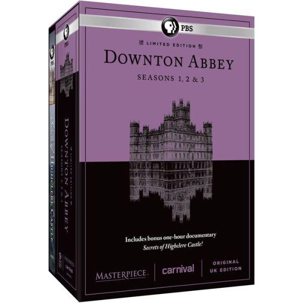Masterpiece Classic: Downton Abbey: Seasons 1, 2 & 3 (U.K. Limited Edition) (DVD) 11309925