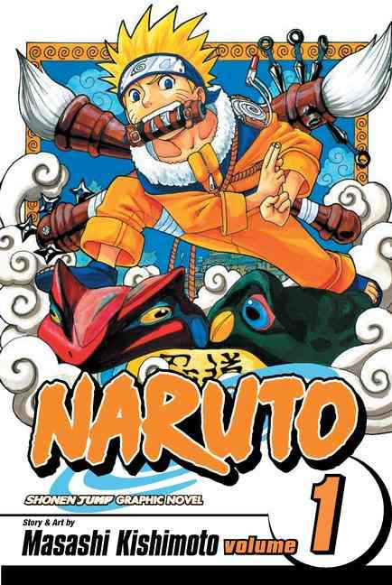 Naruto 1: The Tests of the Ninja (Paperback)