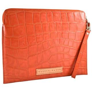 Alicia Klein Cayenne Croco Leather iPad/ Tablet Sleeve