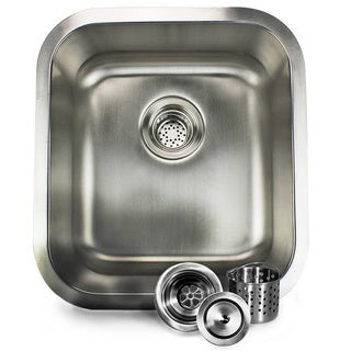 16-inch Stainless Steel Undermount Bar Sink