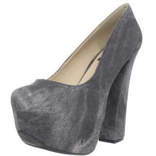 Fahrenheit Women's 'Anne-32' Pointy Toe Platform Pumps