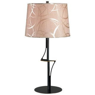 Oban 28-inch High With Oxidized Bronze Finish Table Lamp
