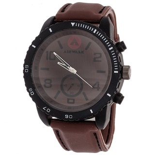 AIRWALK Men's Brown Dial Watch