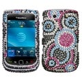 BasAcc Bubble Diamante Case for RIM Blackberry Torch 9800/ 9810 4G