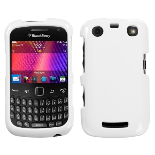 INSTEN Ivory White Phone Case Cover for RIM Blackberry Curve 9360/ 9350/ 9370