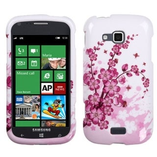 INSTEN Spring Flowers Phone Case Cover for Samsung i930 ATIV Odyssey